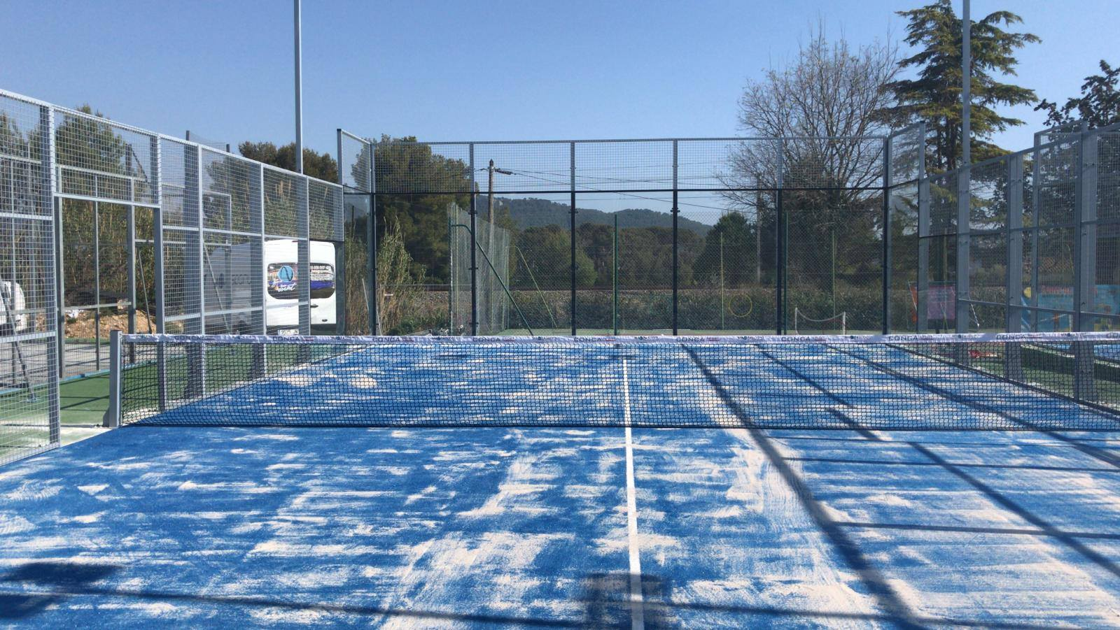 Saint Cyrien Tennis Club: 4 padel courts