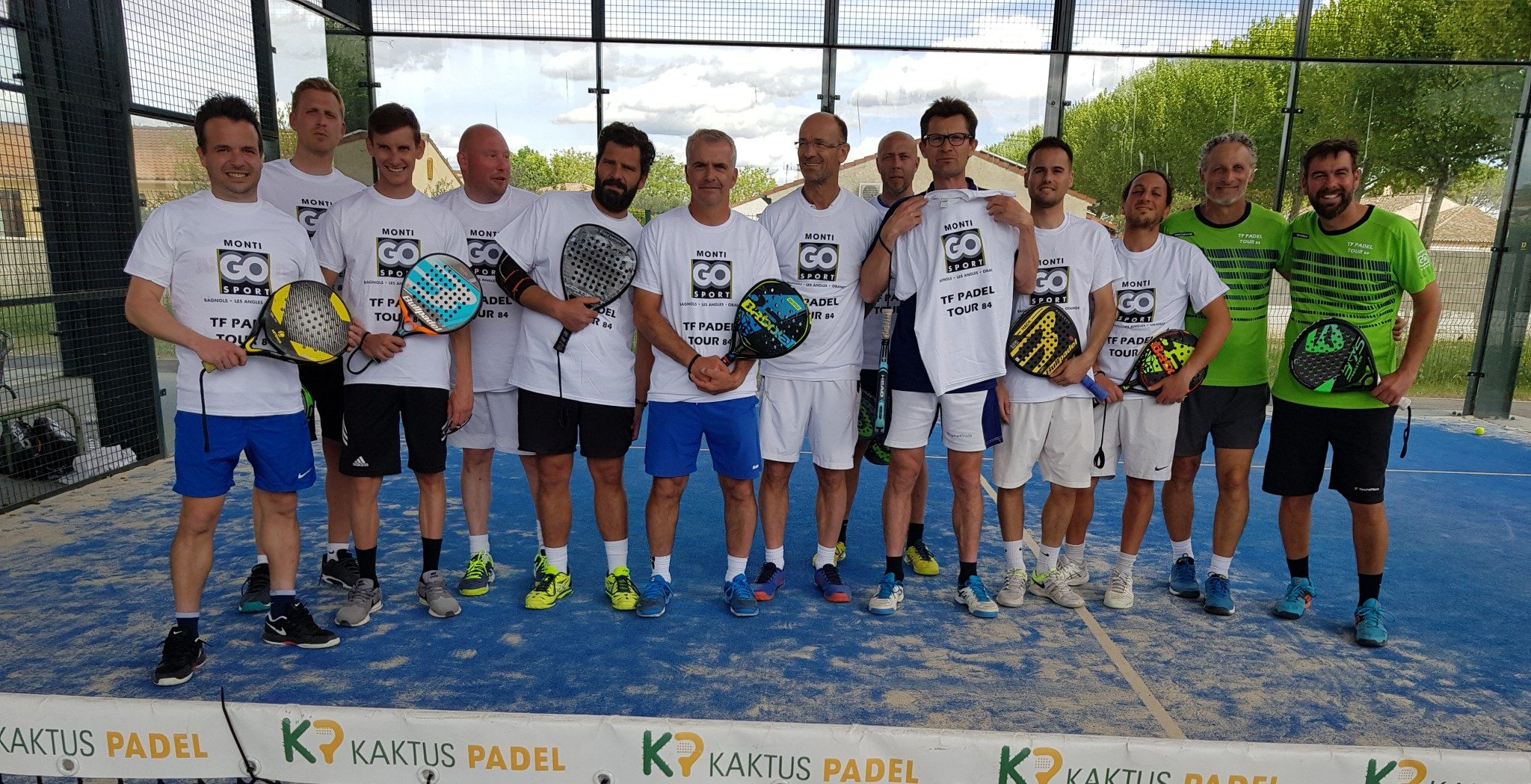 First stage of Technifibre Padel Tour 84, a success