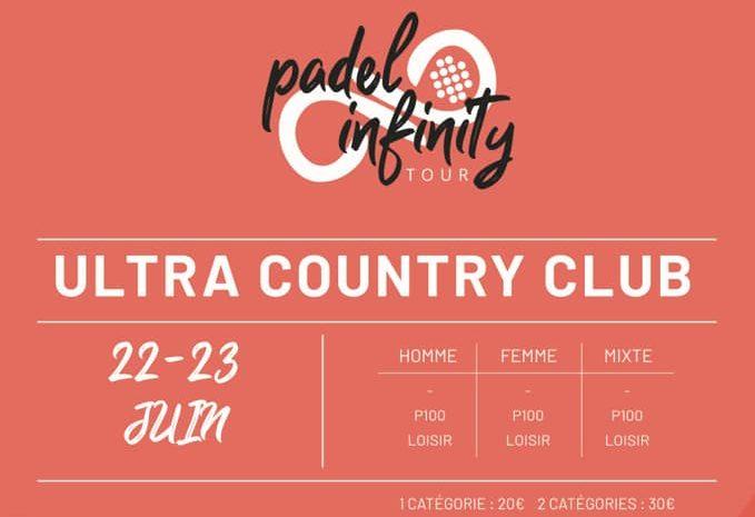 Padel Infinity w Ultra Fabron Nice