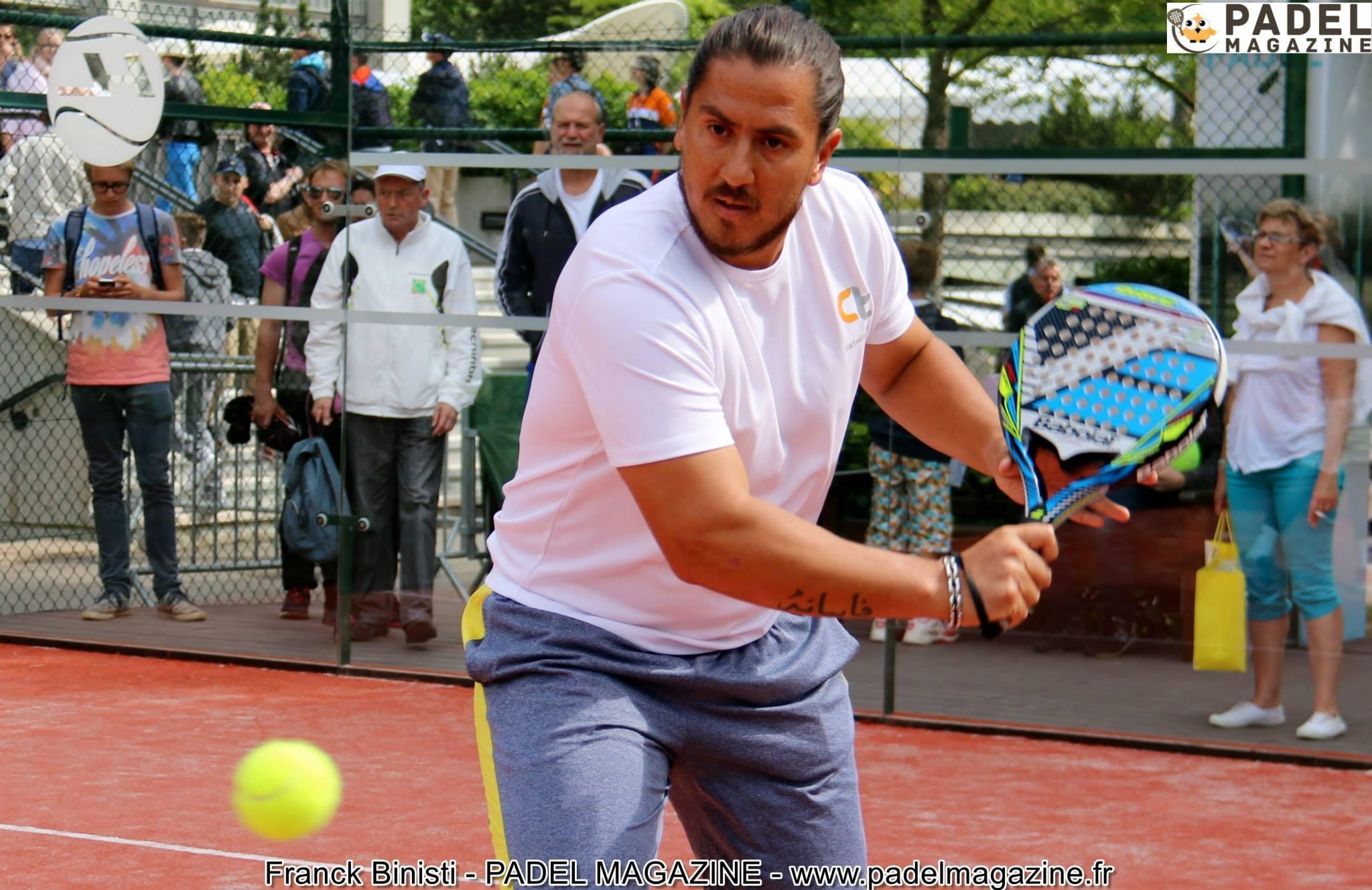 Gray hairs padel Roland Garros