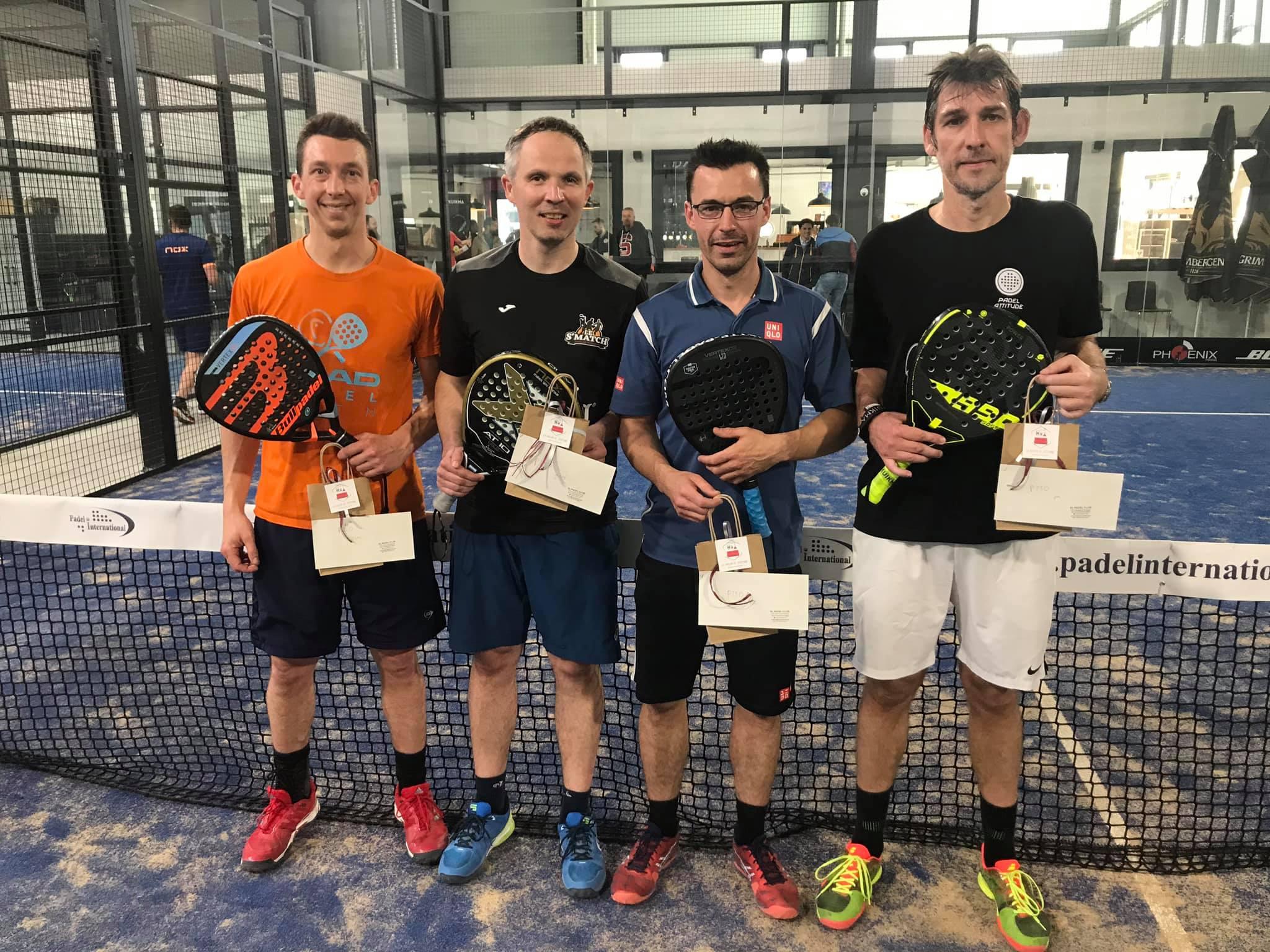 Cappelle – Terrasi remporte l'Open de El Padel Club