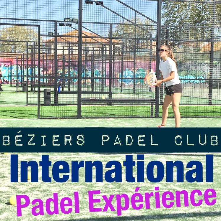 Encore quelques places pour l'International Padel Expérience à Béziers