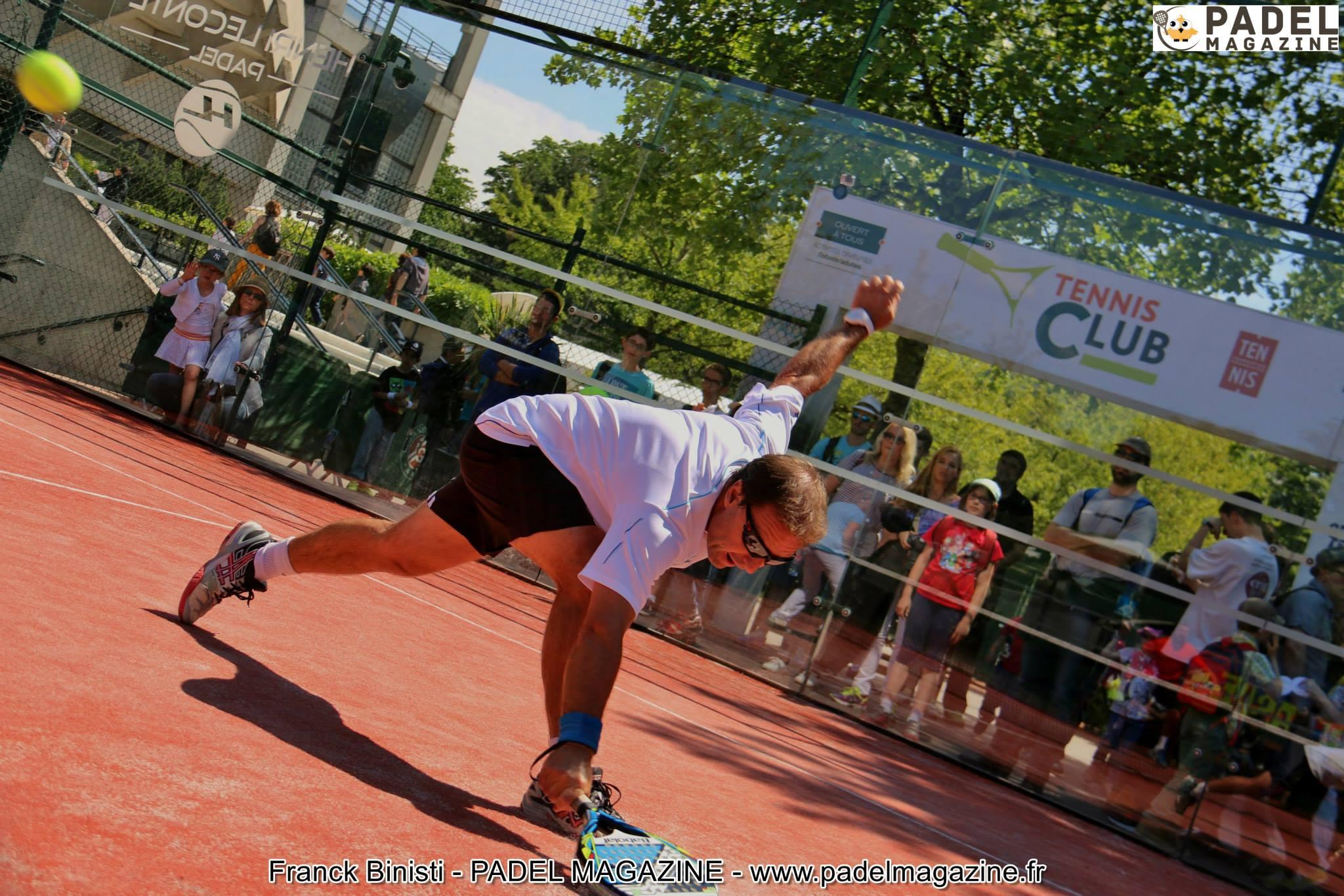 patrick fouquet padel Roland Garros