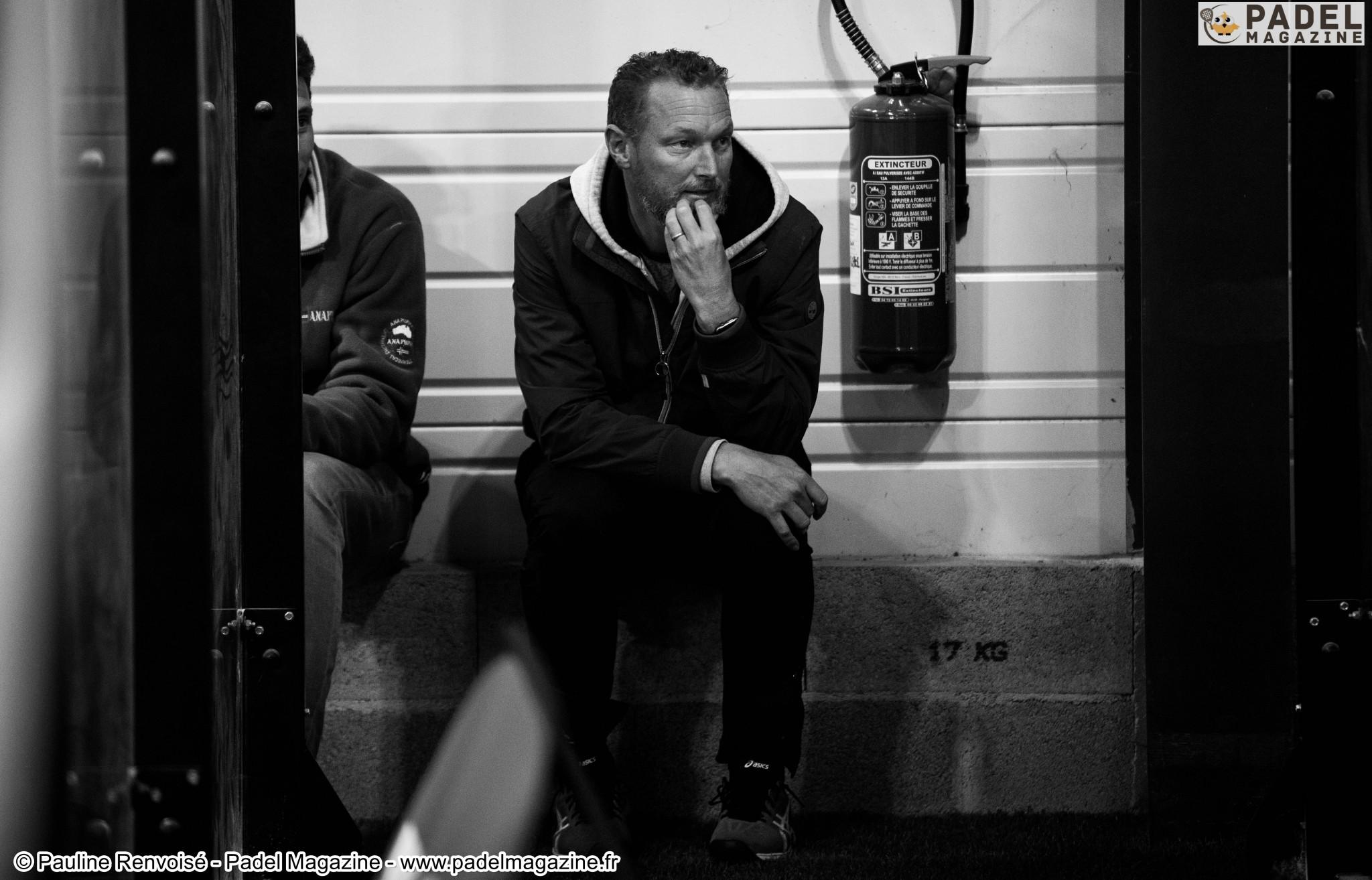 Jean-Michel Pequery : «Le padel, un sport compliqué à gérer mentalement»