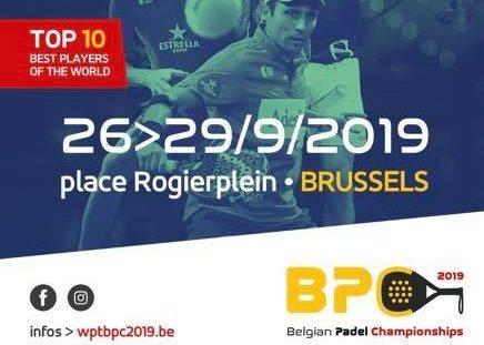 Wold Padel Tour di Bruxelles, dal 26 al 29 settembre 2019