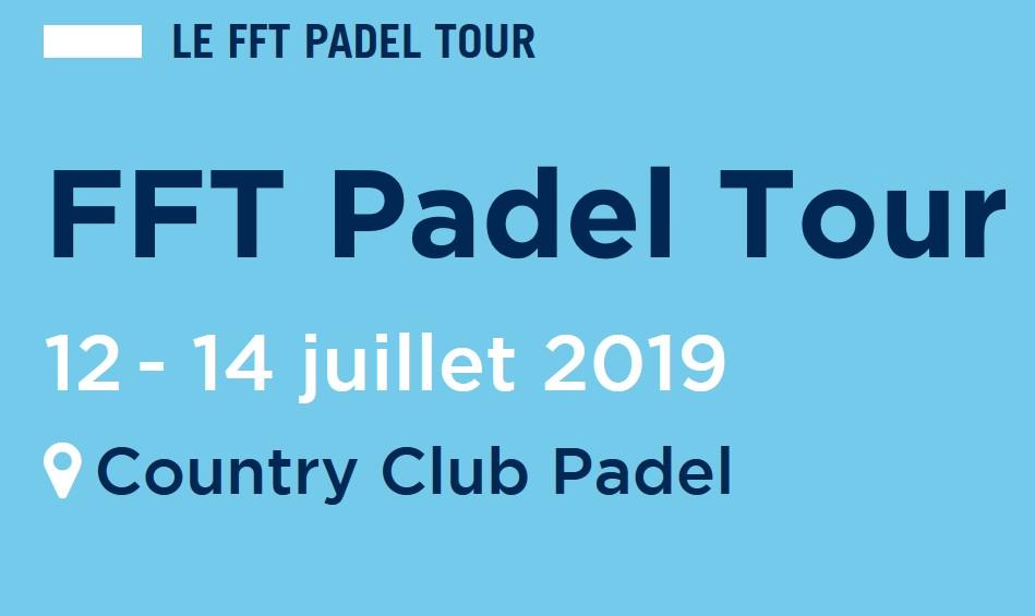 FFT Padel Tour 2019 - Aix-en-Provence: semifinal femenina: Clergue / Ligi vs Martin / Godallier