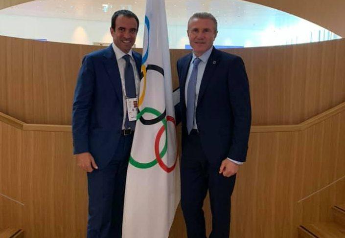 "Luigi Carraro : ""Le padel, notre rêve olympique"""