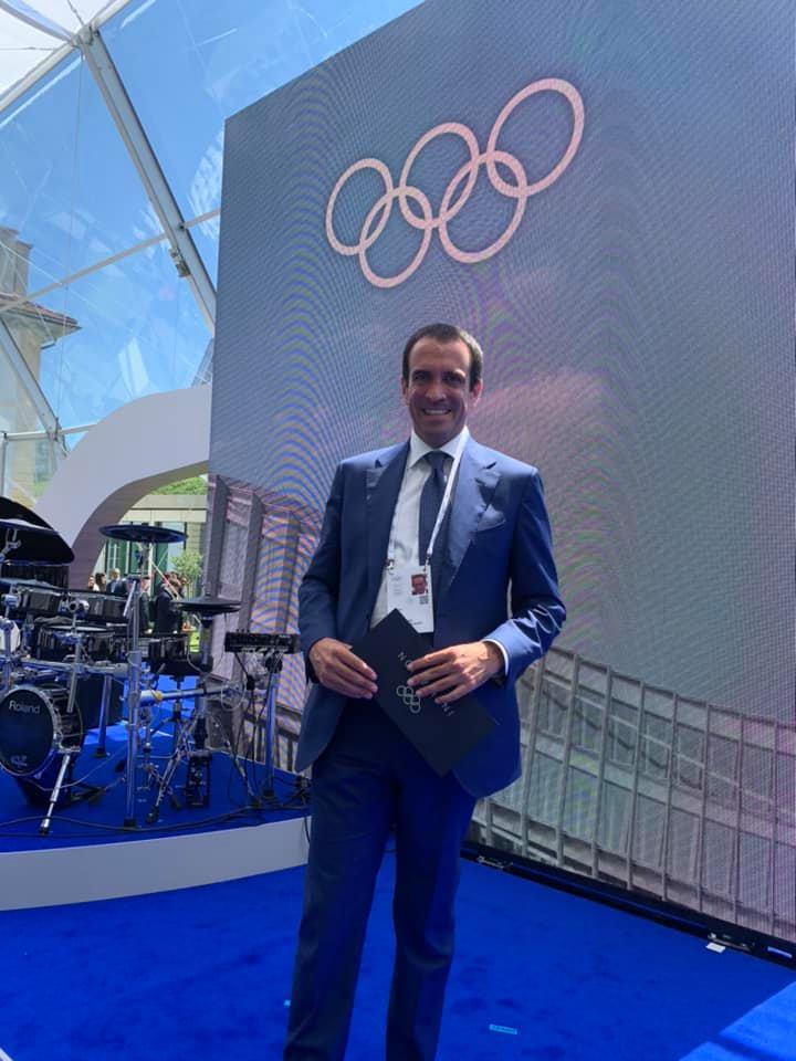 Padel Jeux olympiques Luigi Carraro