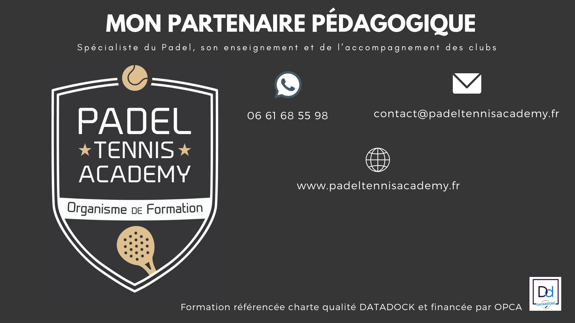 Padel Tennis Academy sur Facebook