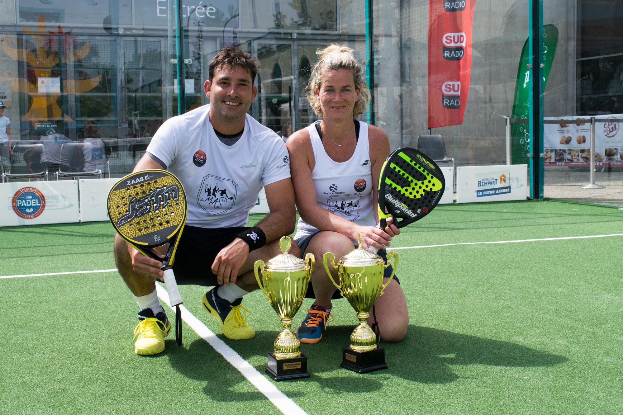 Lambregts / Salines remporte l'Open de France de Montauban