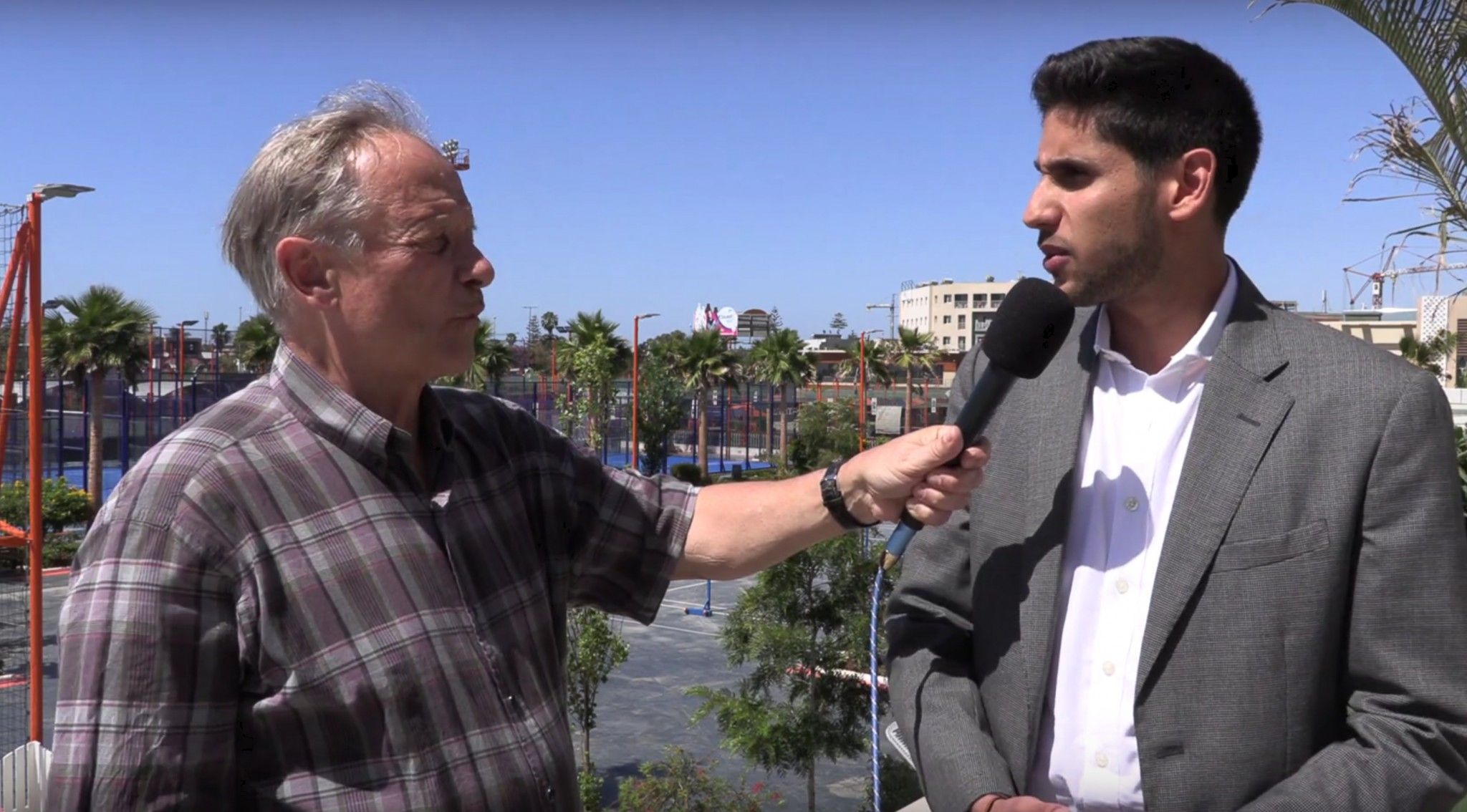 "Smail El Menjra : "" Le padel peut devenir un grand sport au Maroc"""