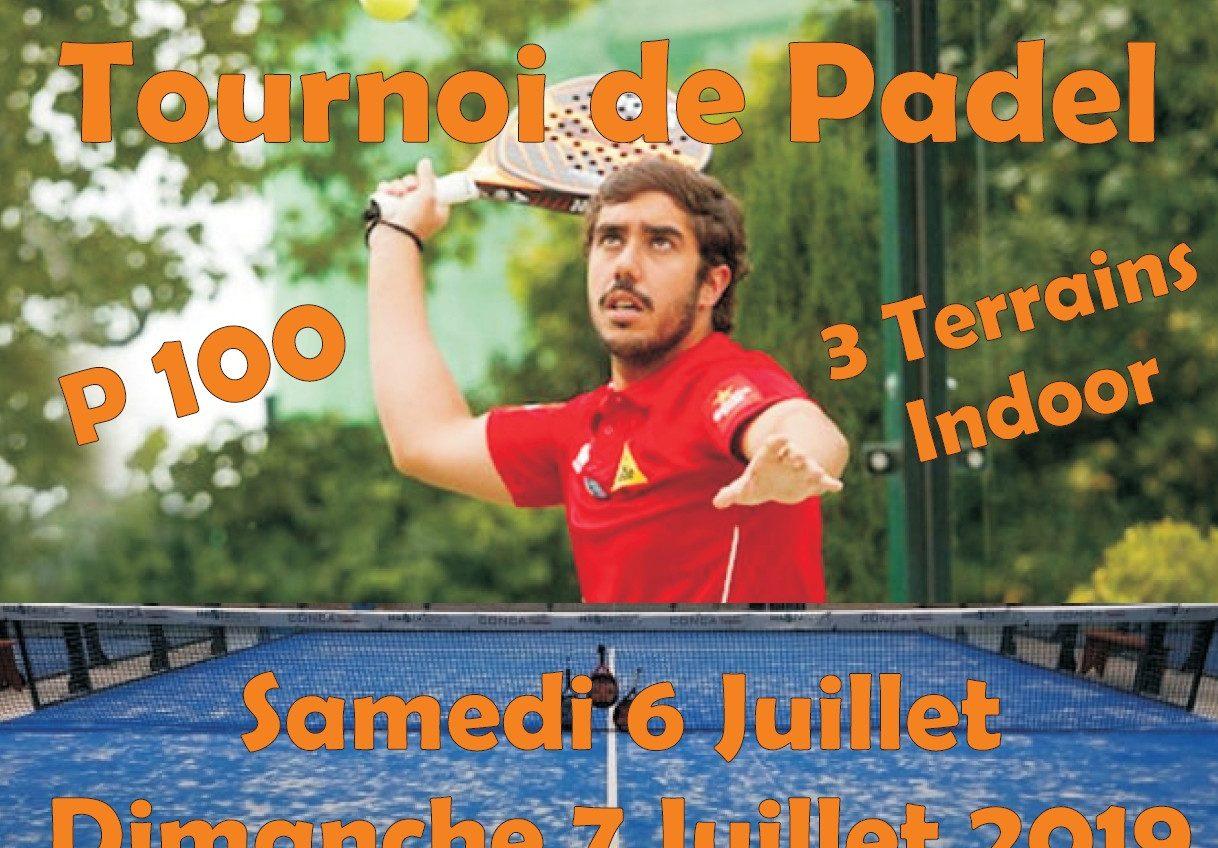 Padel Tournament - Racket Park - 6 / 7 July - P100