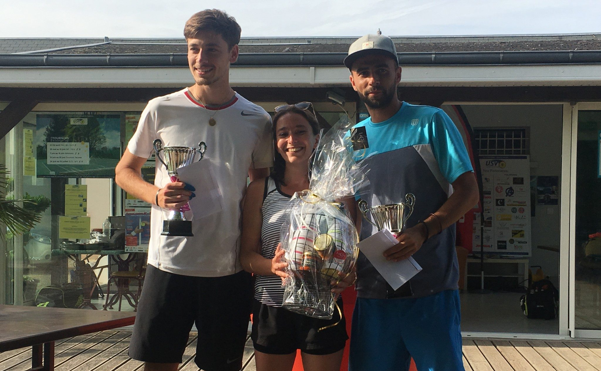 Demont / Blais remporte l'Open Padel de Vendome