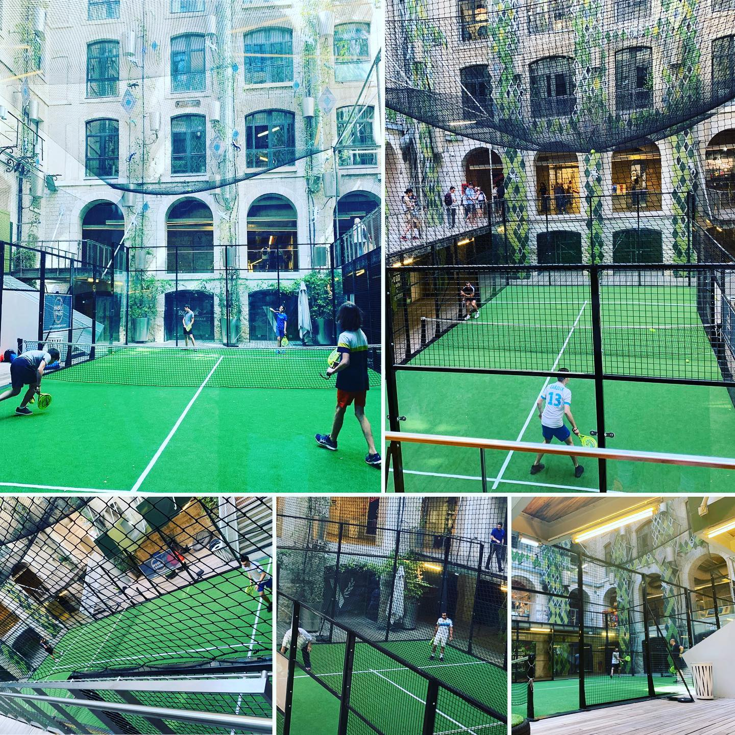 Work and Padel s'installe aux Docks Village – Centre Marseille