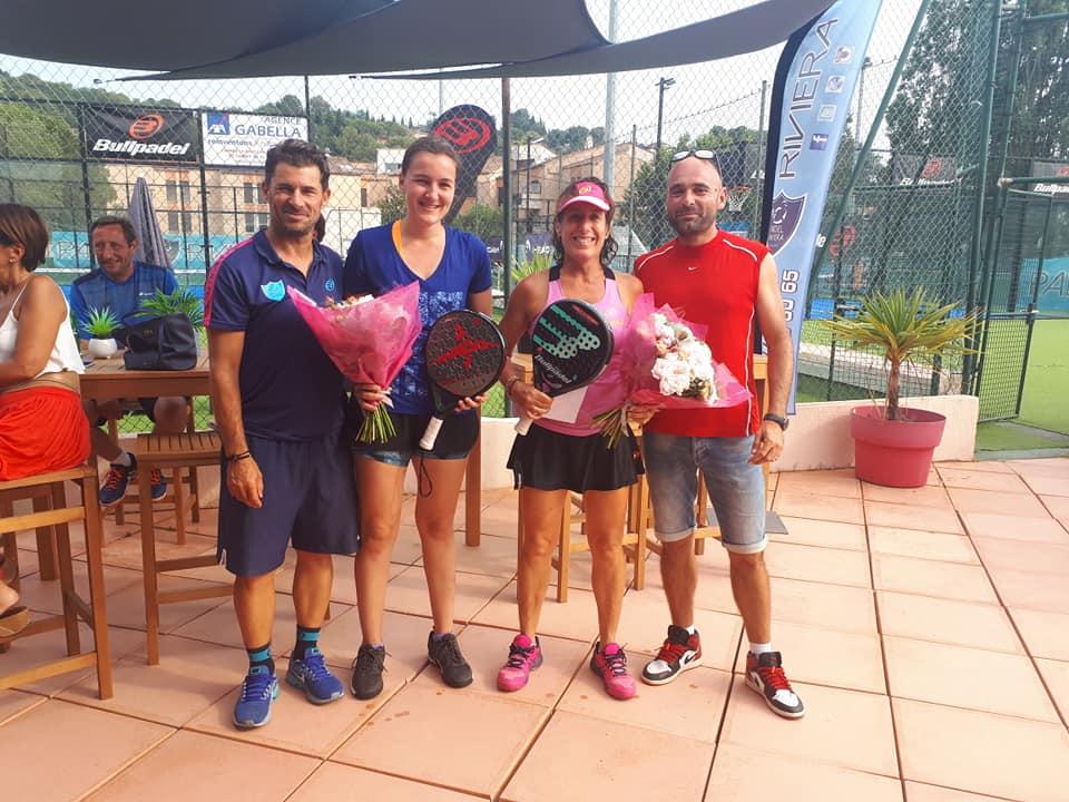 Sorel / Invernon: Fuld af sejre i Padel Riviera Mougins