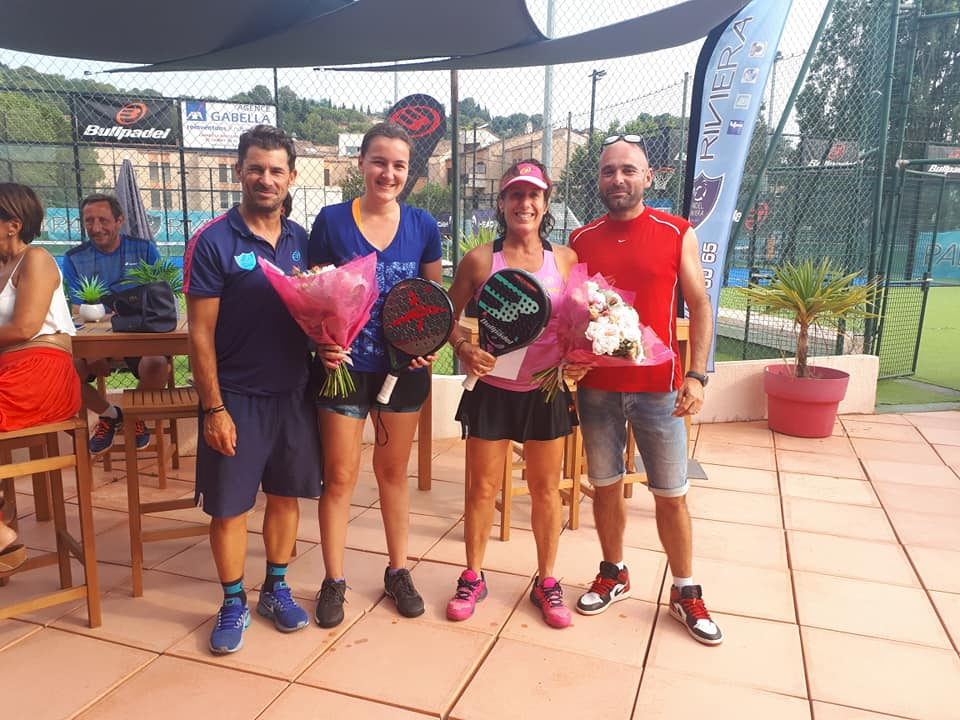 Sorel / Invernon :  Le plein de victoires au Padel Riviera Mougins