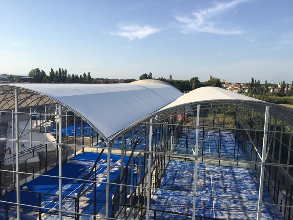 AREA PADEL CLUB NARBONNE takes shape