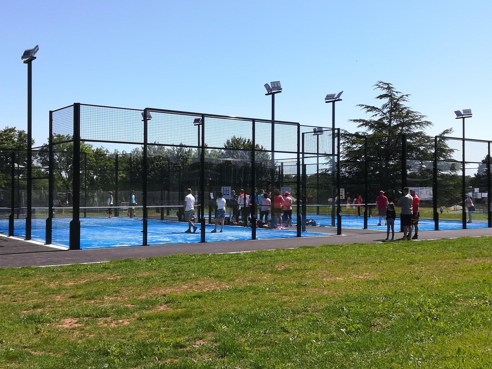 Le Stade ruthénois tennis a enfin ses padel