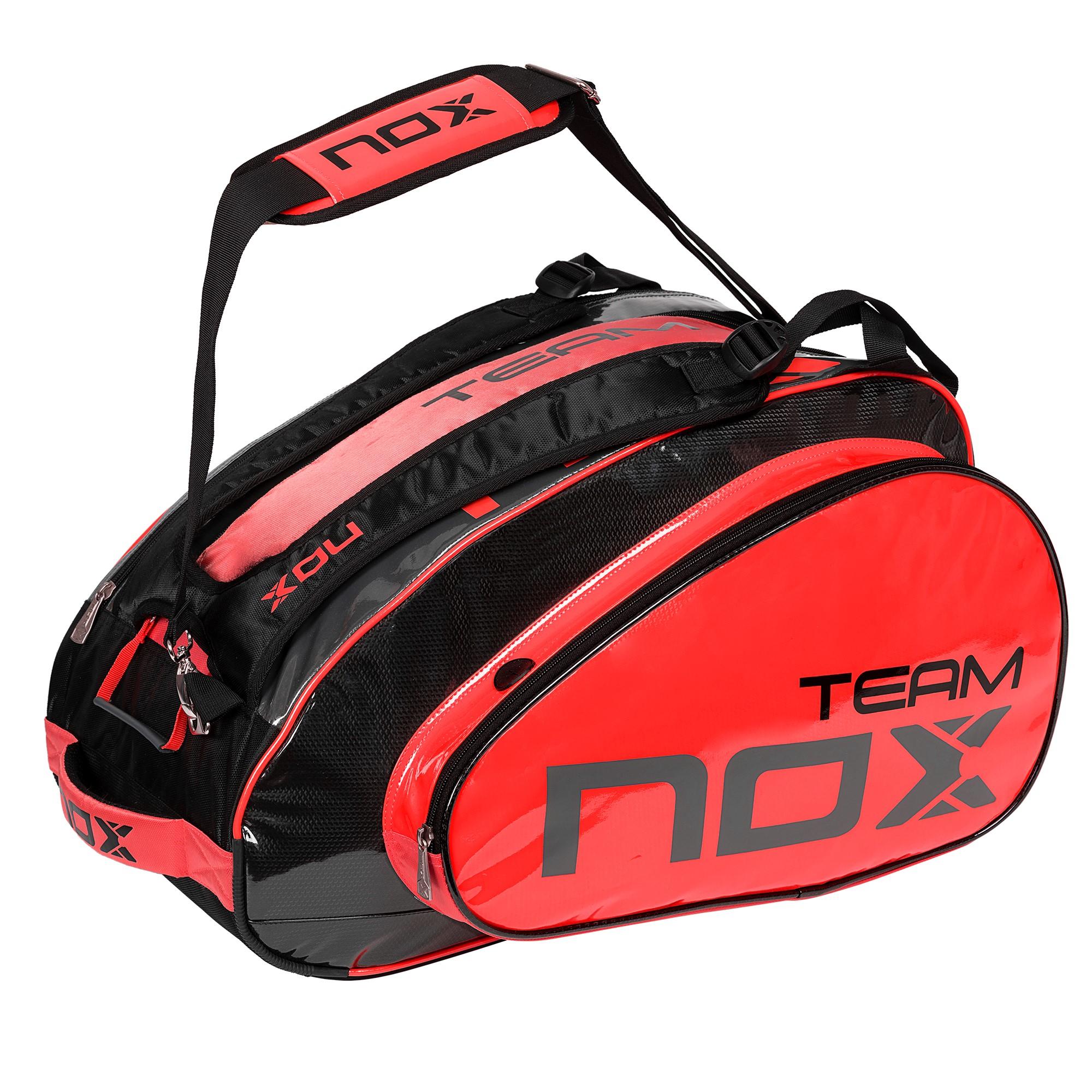 NUEVO: La bolsa de Padel NOX TEAM ROJO