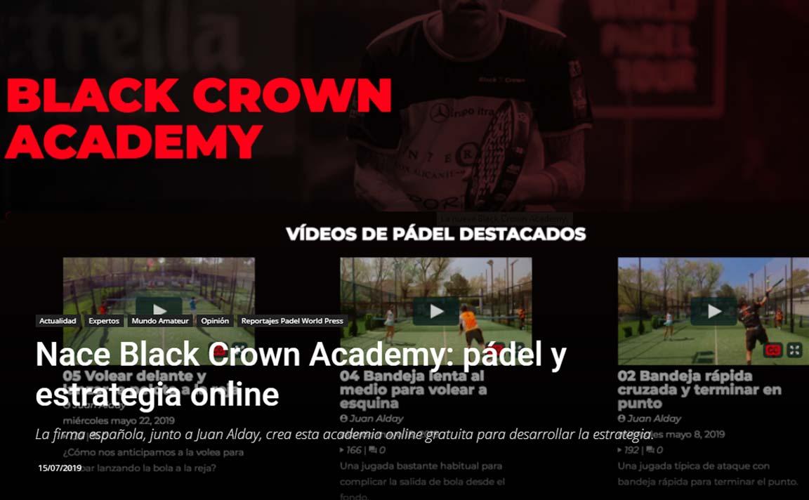 Black Crown Nasce l'Accademia