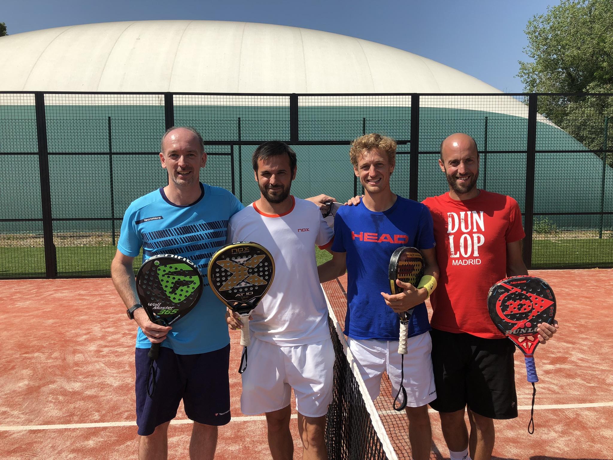 Amiot / Tison remporte l'Open de Mantes-la-Jolie