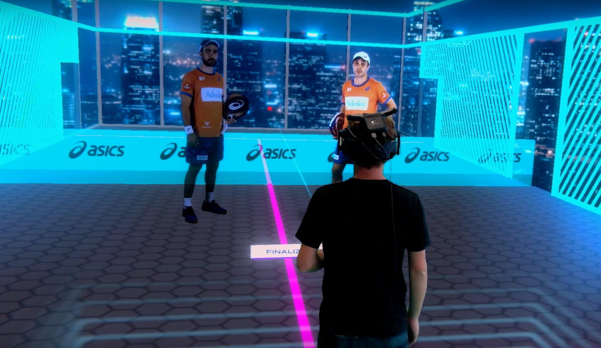 Jouer contre Bela et Lima grâce à la réalité virtuelle