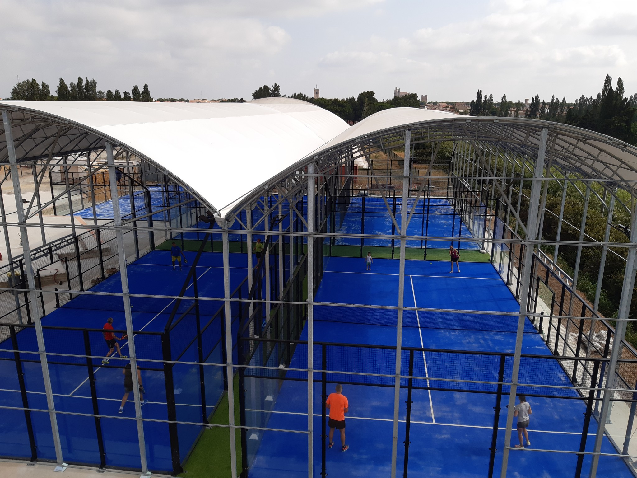 Apertura dell'Area Padel Club