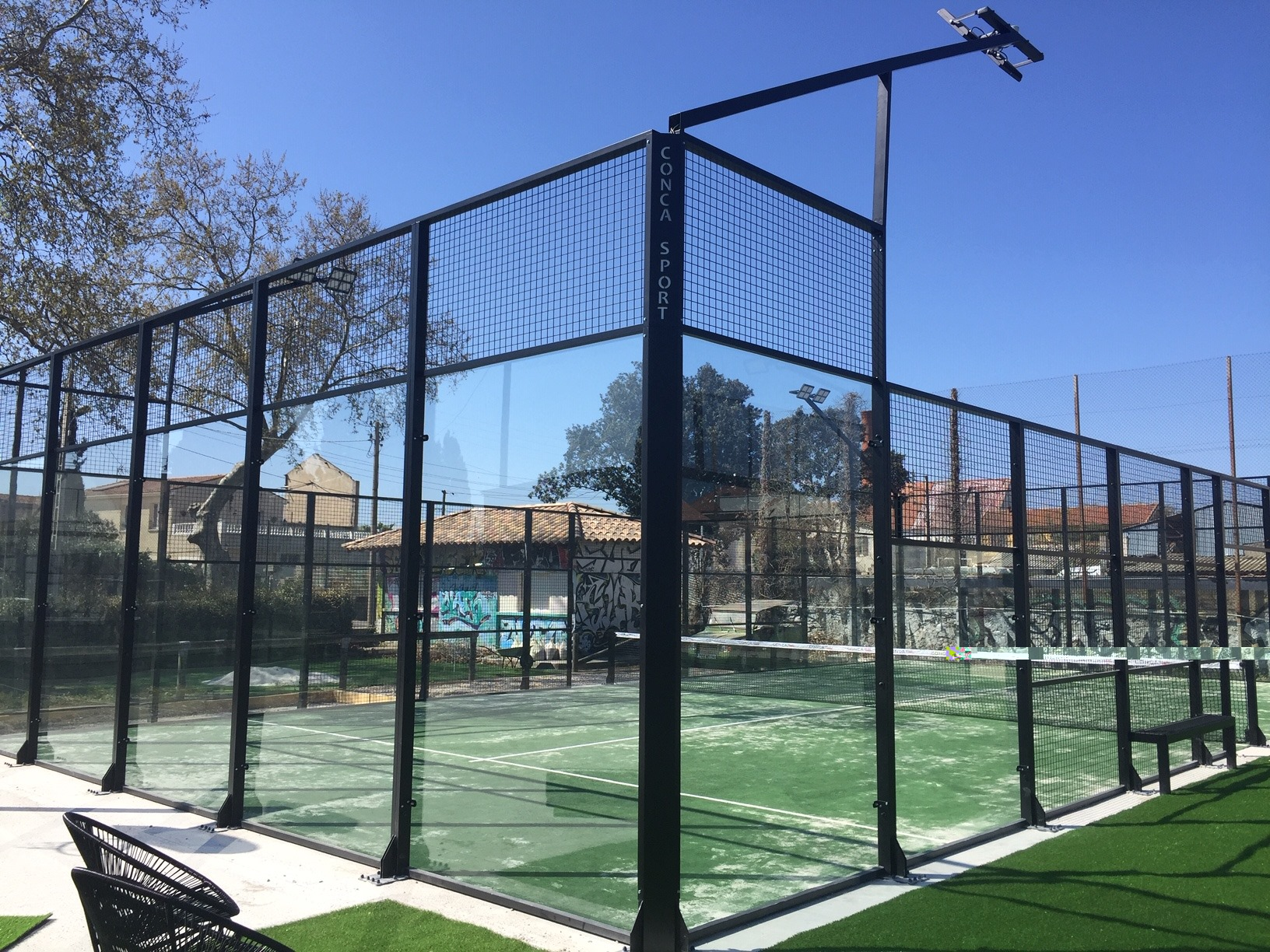Béziers Padel Club: 6 campi da tennis padel adesso !