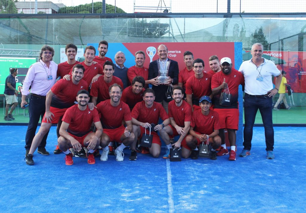 L'America vince l'EuroAmerica Padel Coppa 2019