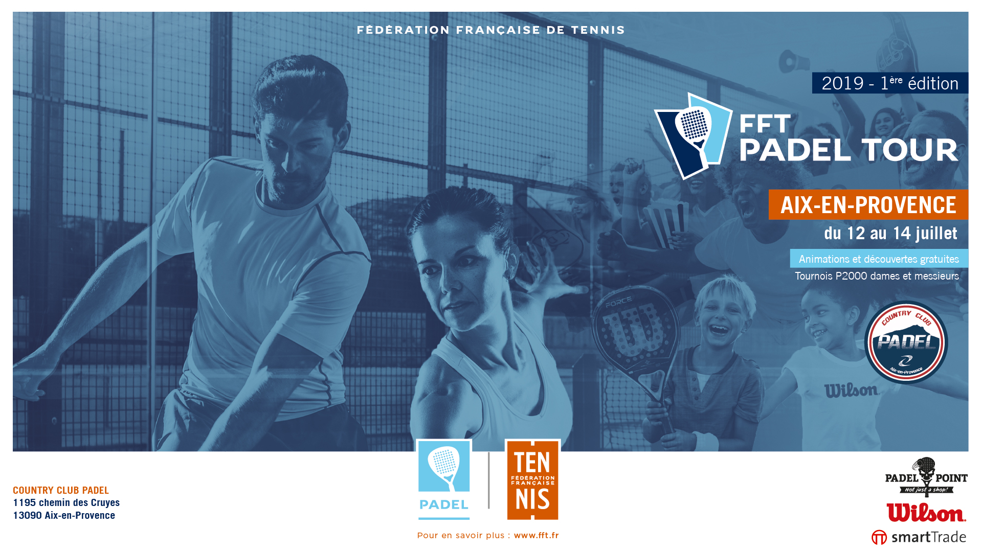 The most beautiful points of the FFT PADEL TOUR Aix-en-Provence
