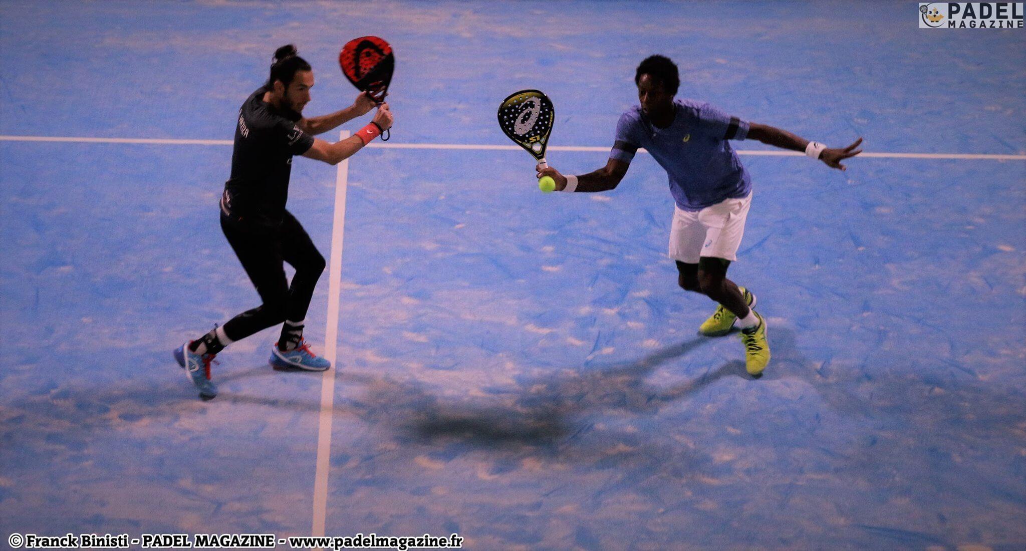 "Gaël Monfils: ""El padel tren de vòlei per al tennis """