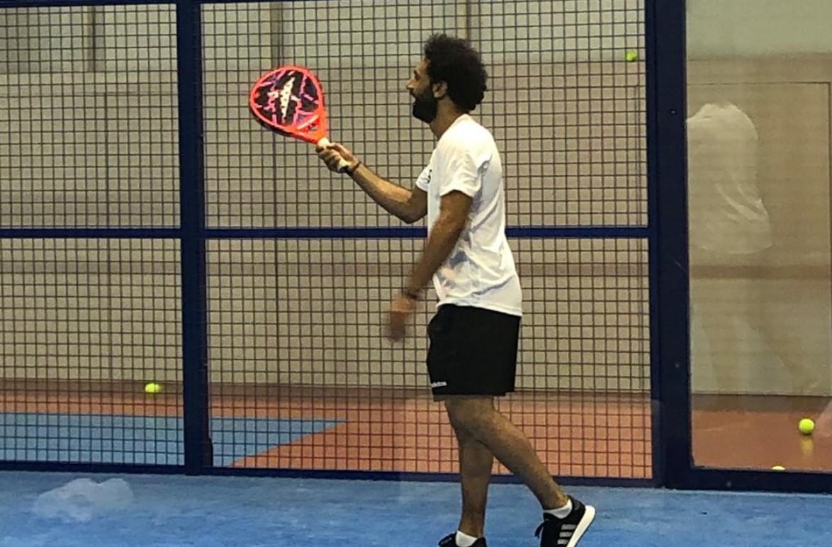 Mohamed Salah en padel : ¡Gran visibilidad!