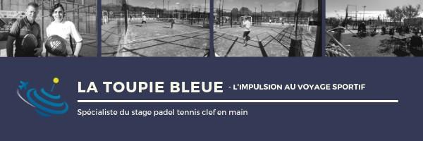 La Toupie Bleue : votre stage padel clef en main