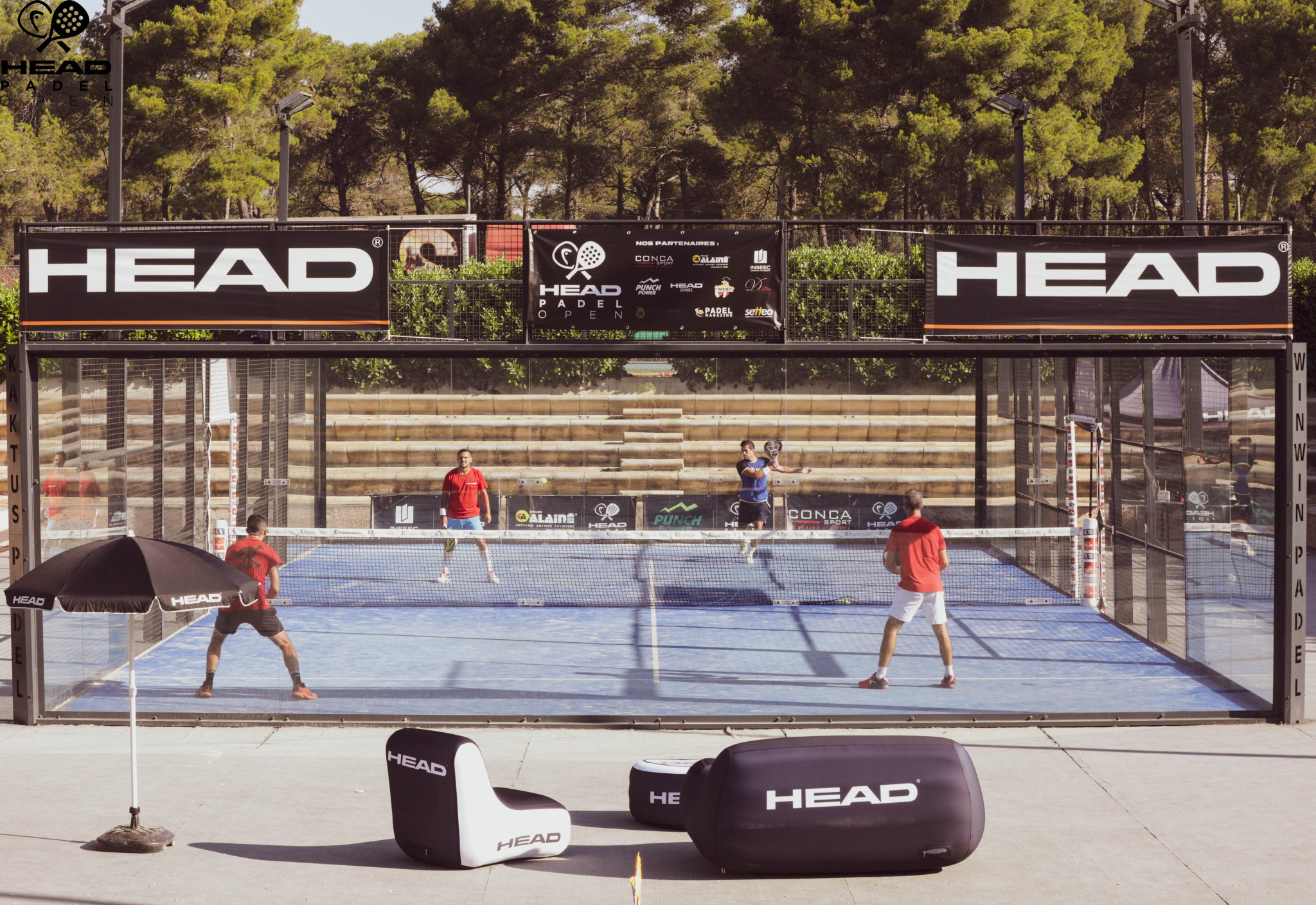 terrain head padel open