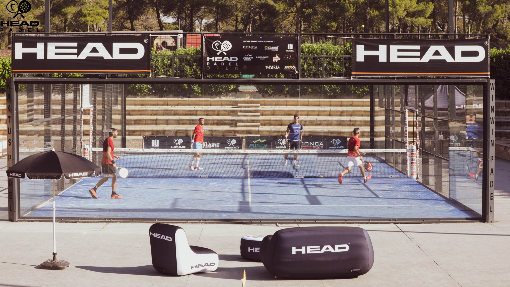 Head Padel Open 2019 - Haziza / Scatena vs. Bergeron / Morillon - 1 / 2 - WinWin Padel Aix