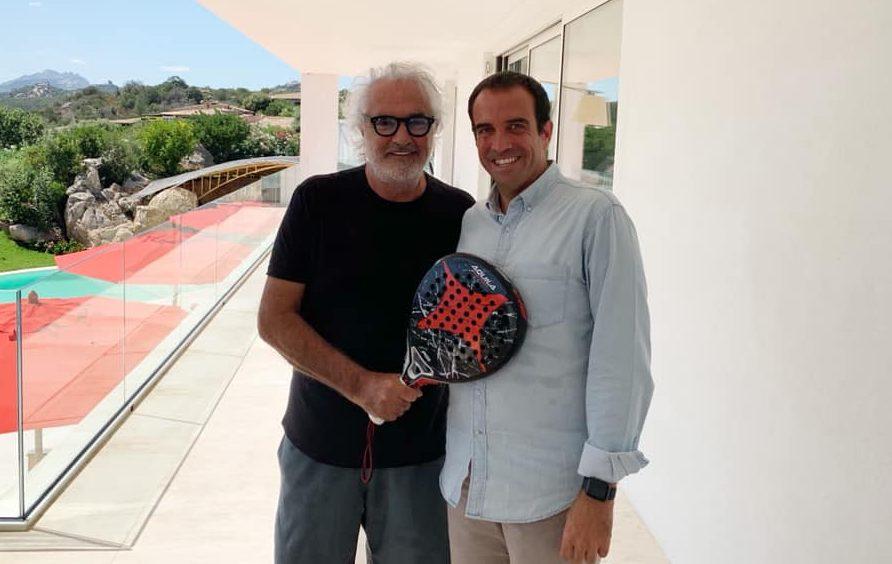 Flavio Briatore : Nouvel ambassadeur du padel