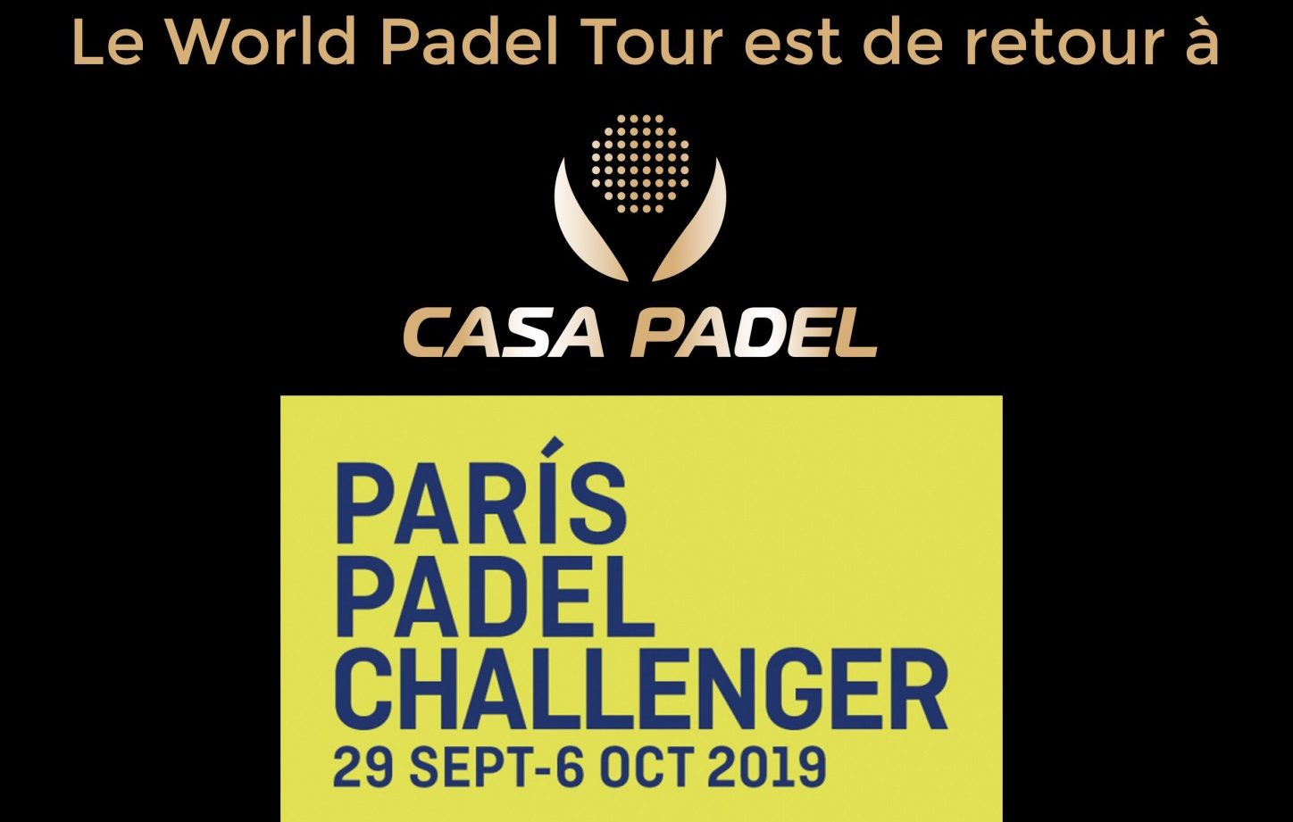 """<font style=""""vertical-align: inherit;""""><font style=""""vertical-align: inherit;"""">Paris Padel Challenger 2019: M-2"""