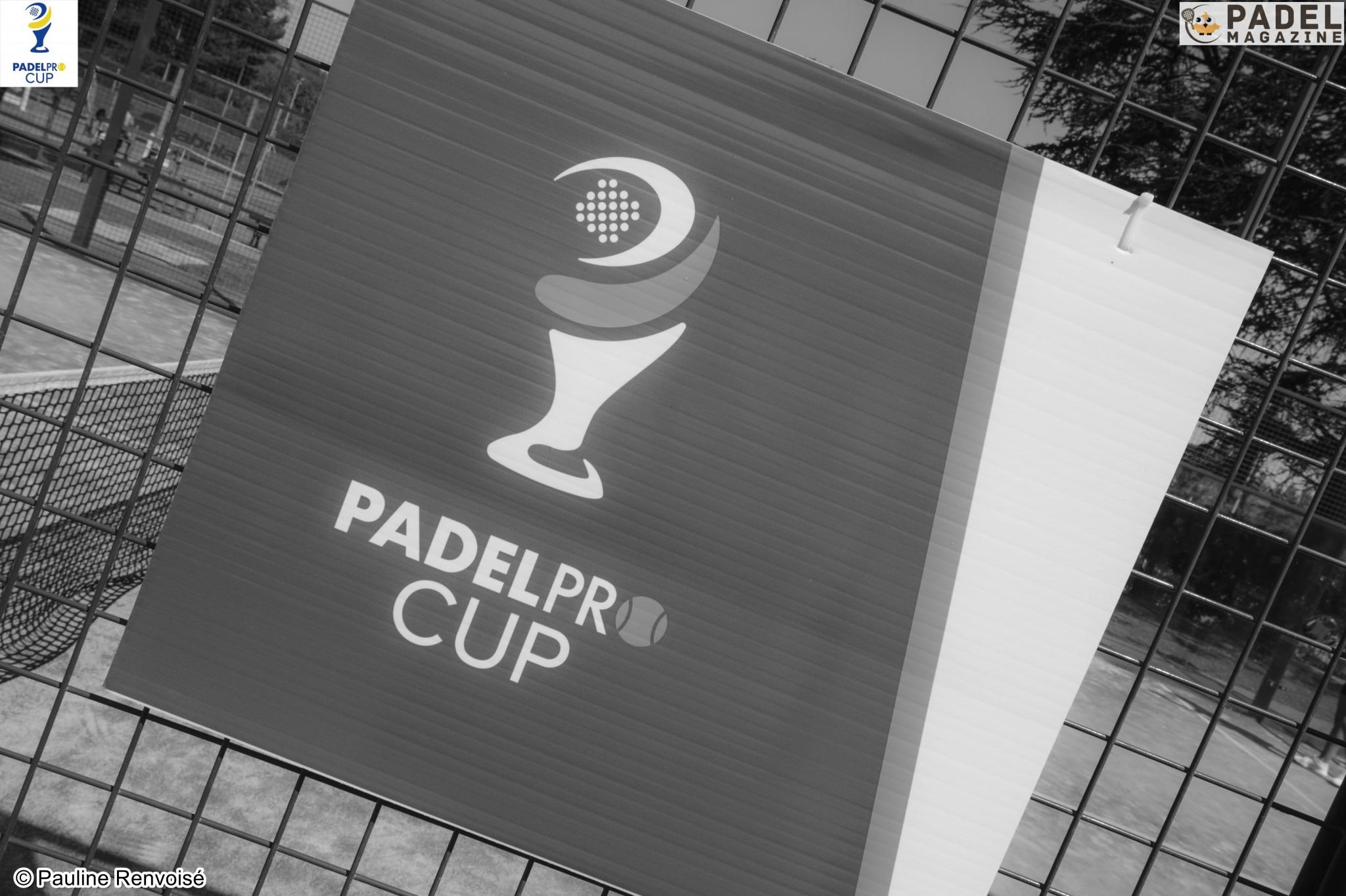 Pas de Padelpro Cup en 2020
