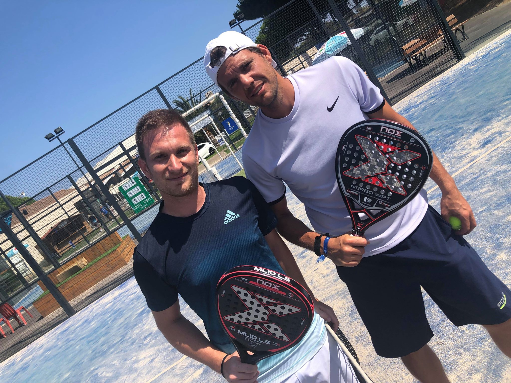 Paul-Henri Mathieu : 1er tournoi de padel, 1er quart !