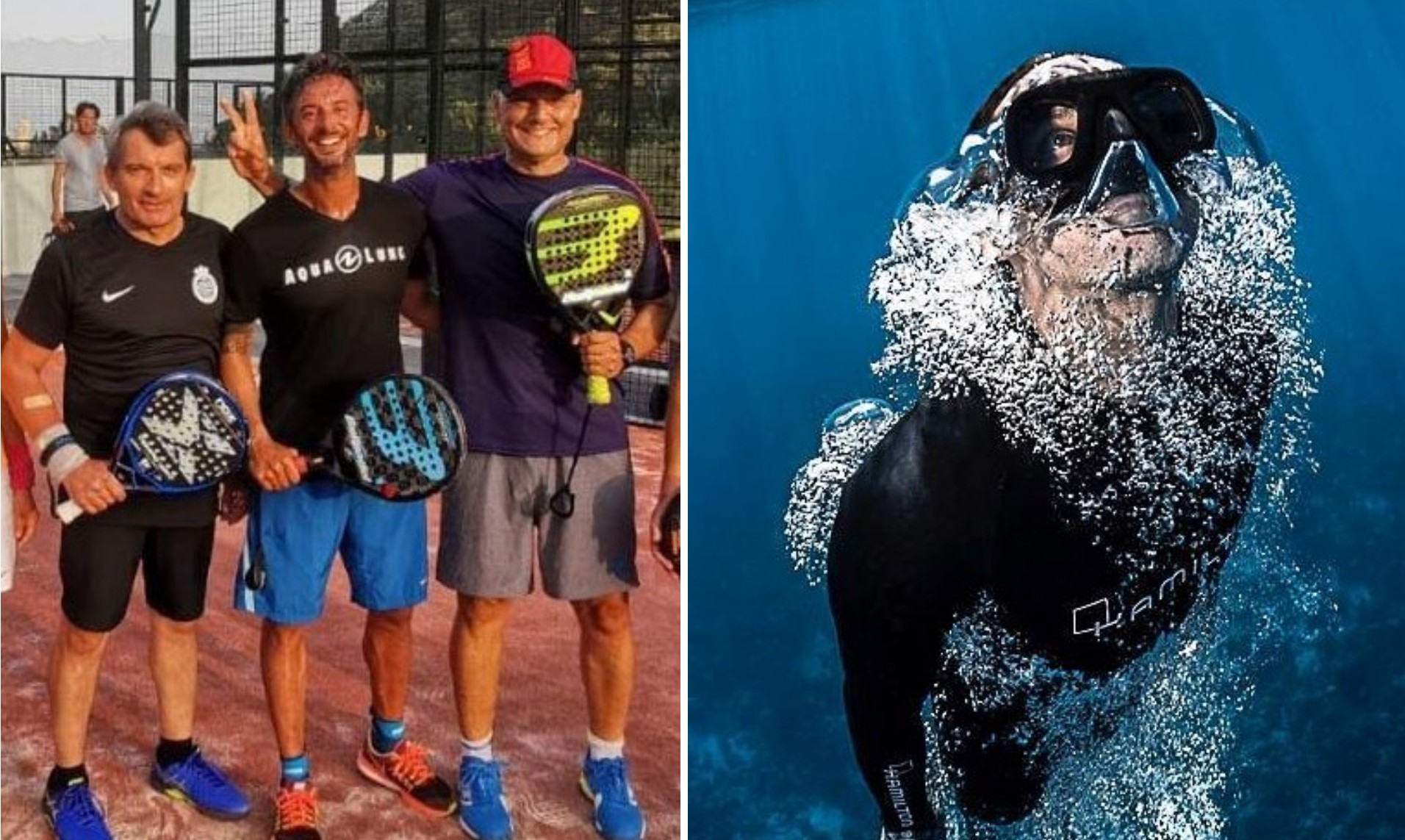 Immersion de Pierre Frolla au padel !
