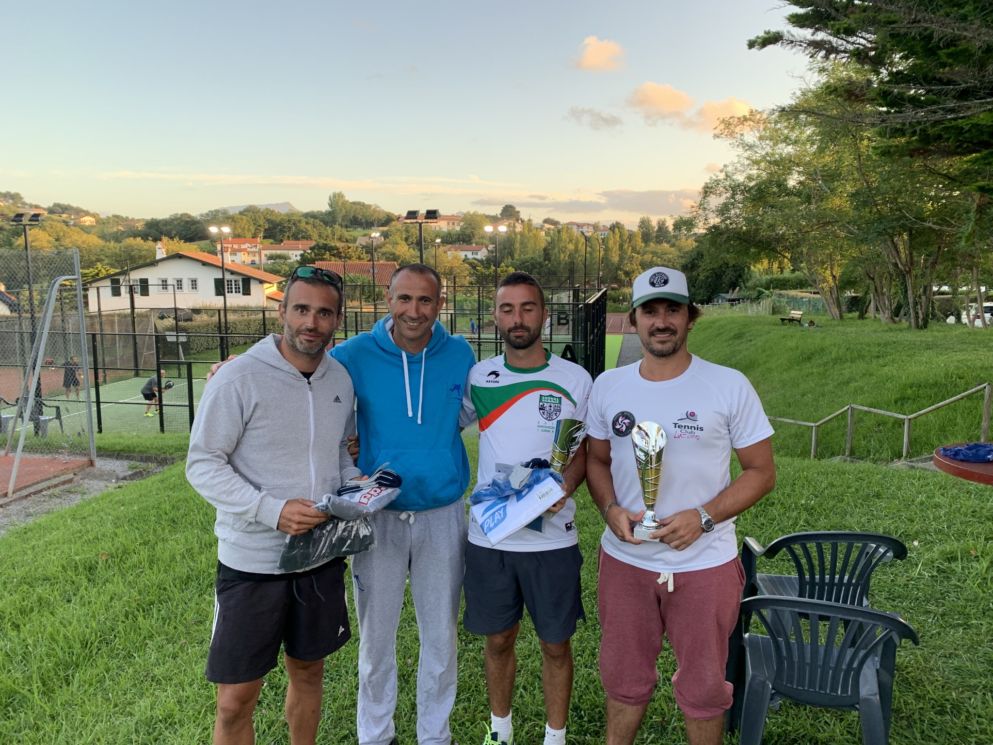 Joli week-end padel au Tc Guéthary