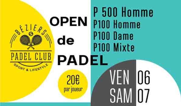 Béziers Padel Club : Une rentrée très padel !
