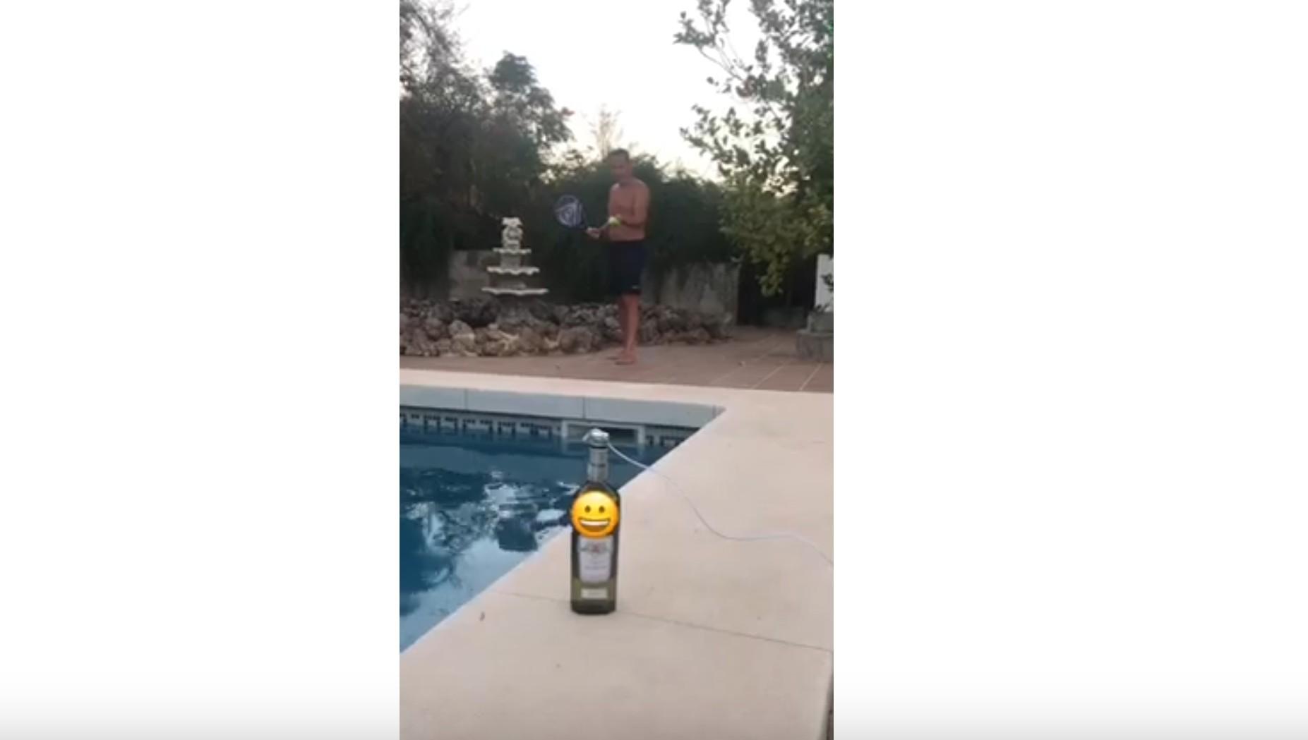 Flasche öffnen - Spezialeffekte
