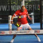 fABRICE Pastor volée apt padel tour tennis padel soleil