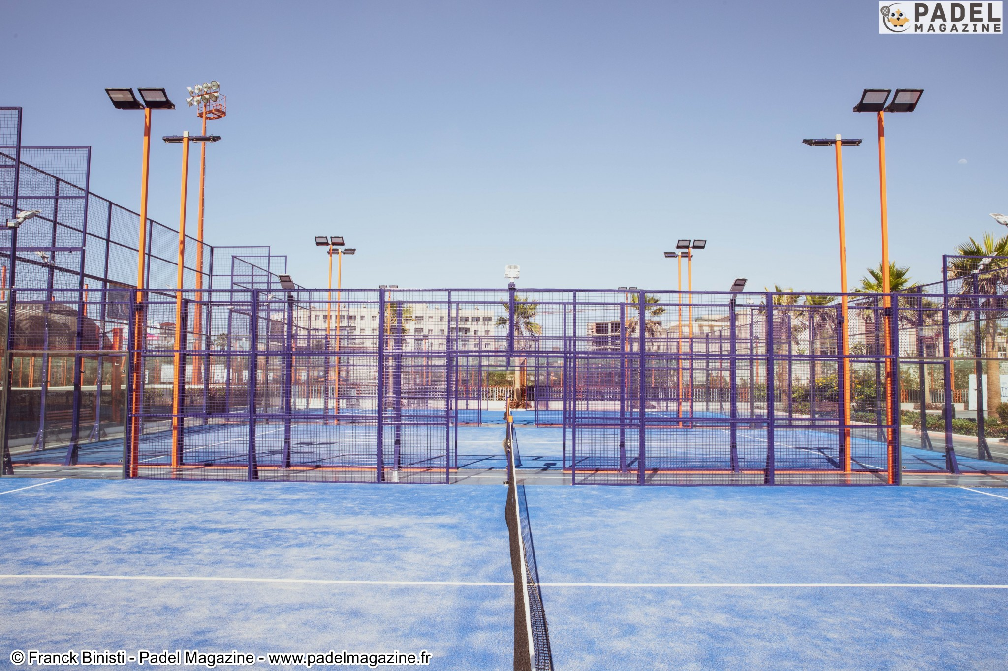Oasis Sports City – Un complexe multi-sports avec 4 padel