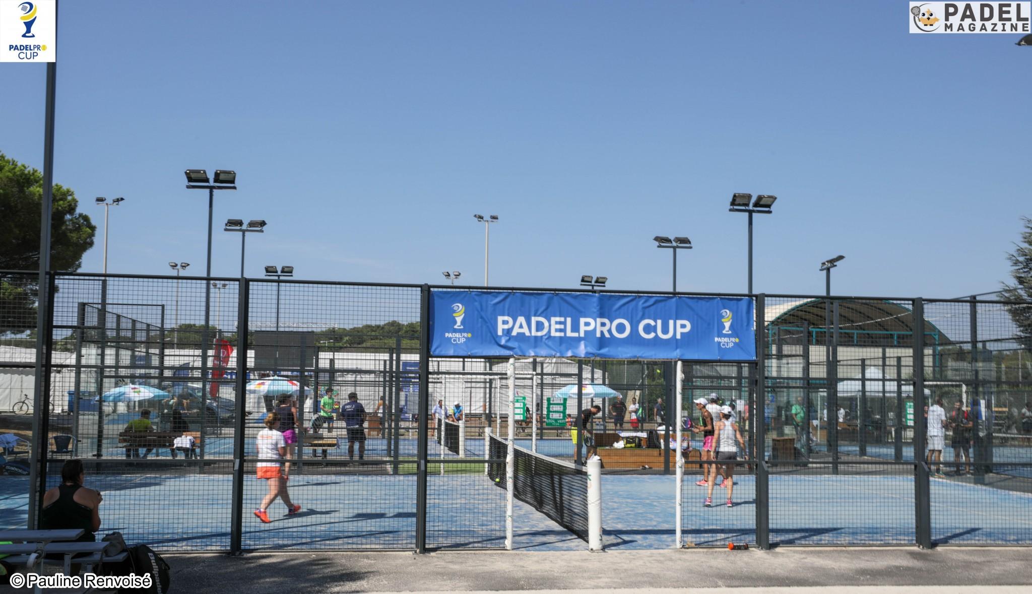 Padelpro Cup – Tableau et horaires P250