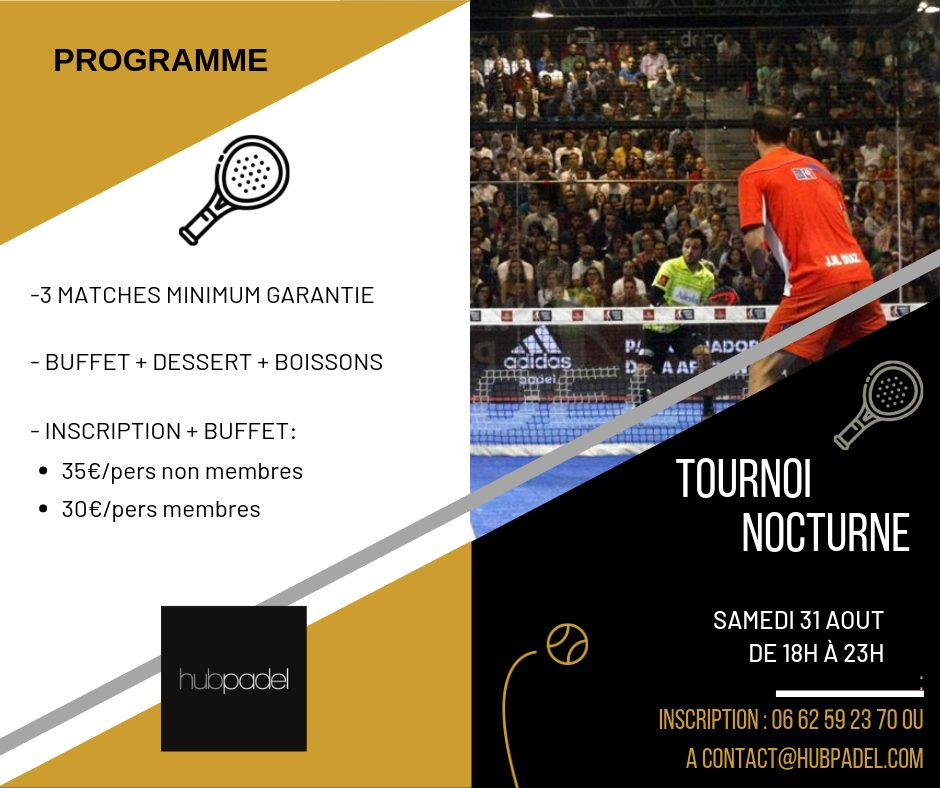 Hub Padel - Night Tournament