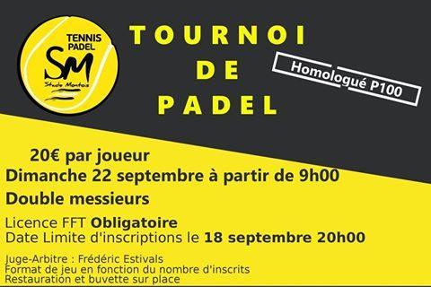 Open Stade Montois Padel – 22 septembre
