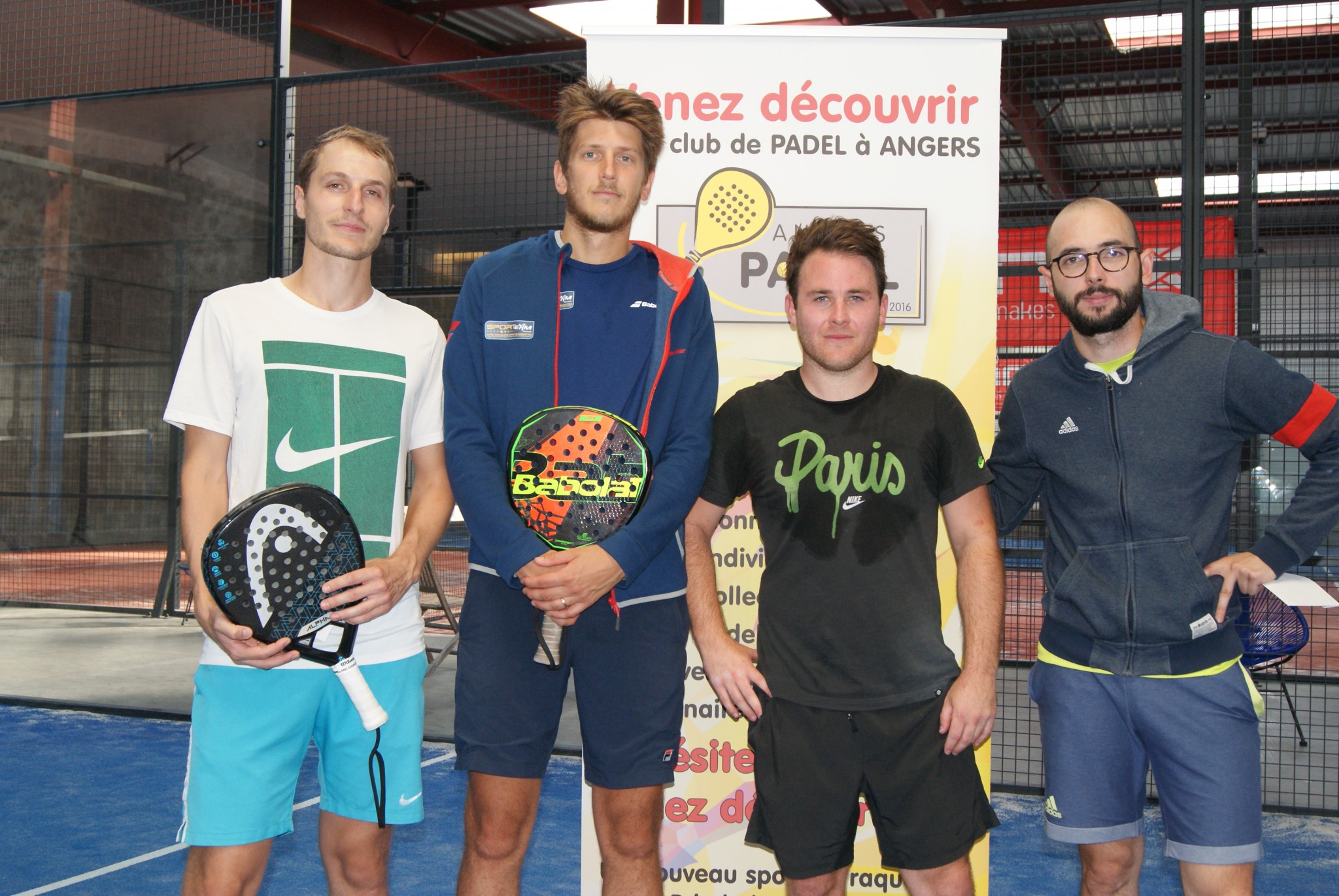 Veillon / Lighter vince ad Angers Padel