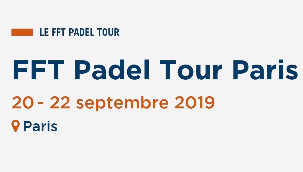 6ª etapa FFT PADEL PARIS TOUR